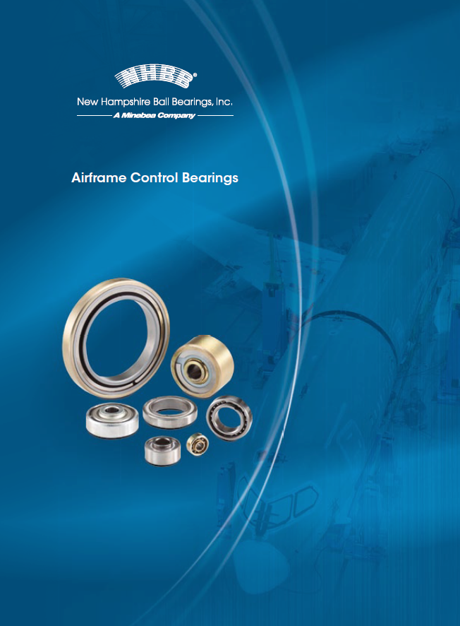 NHBB Airframe Control Ball Bearings Design Guide Cover