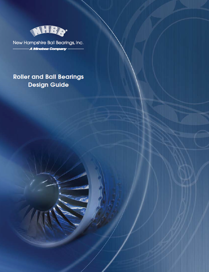 NHBB Roller and Ball Bearings Design Guide Cover