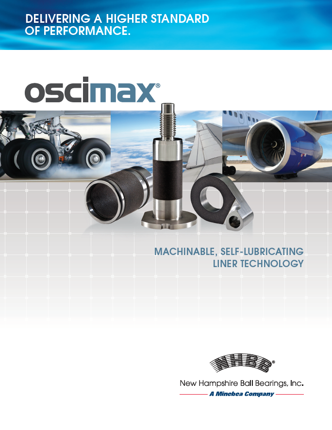 NHBB's Oscimax® Brand of Machinable Liner Technology